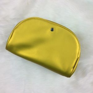 ~ 3 for $25 ~ a new day Recycled Yellow MakeUp Bag